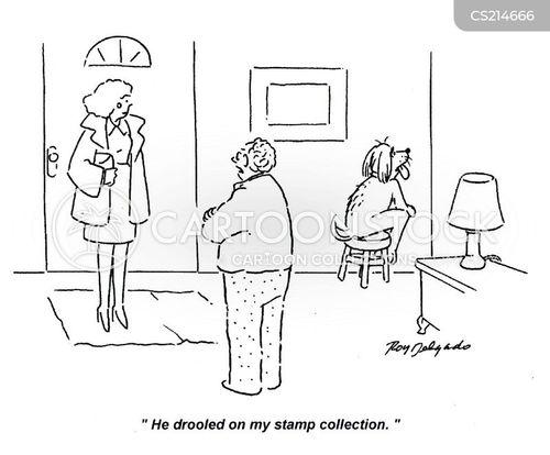 drooled cartoon