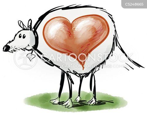 big hearts cartoon