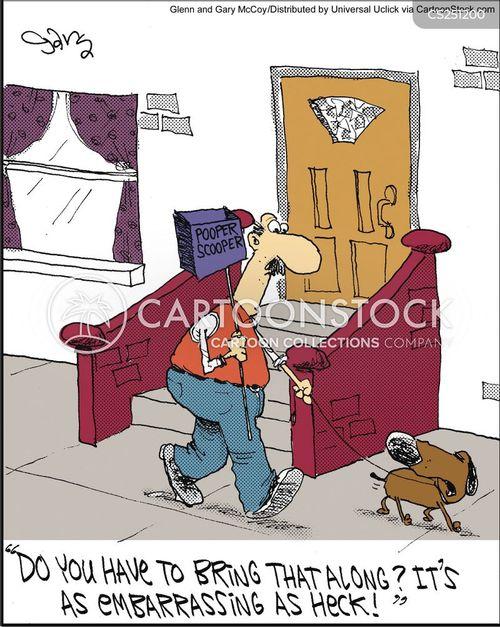 pooper scooper cartoon