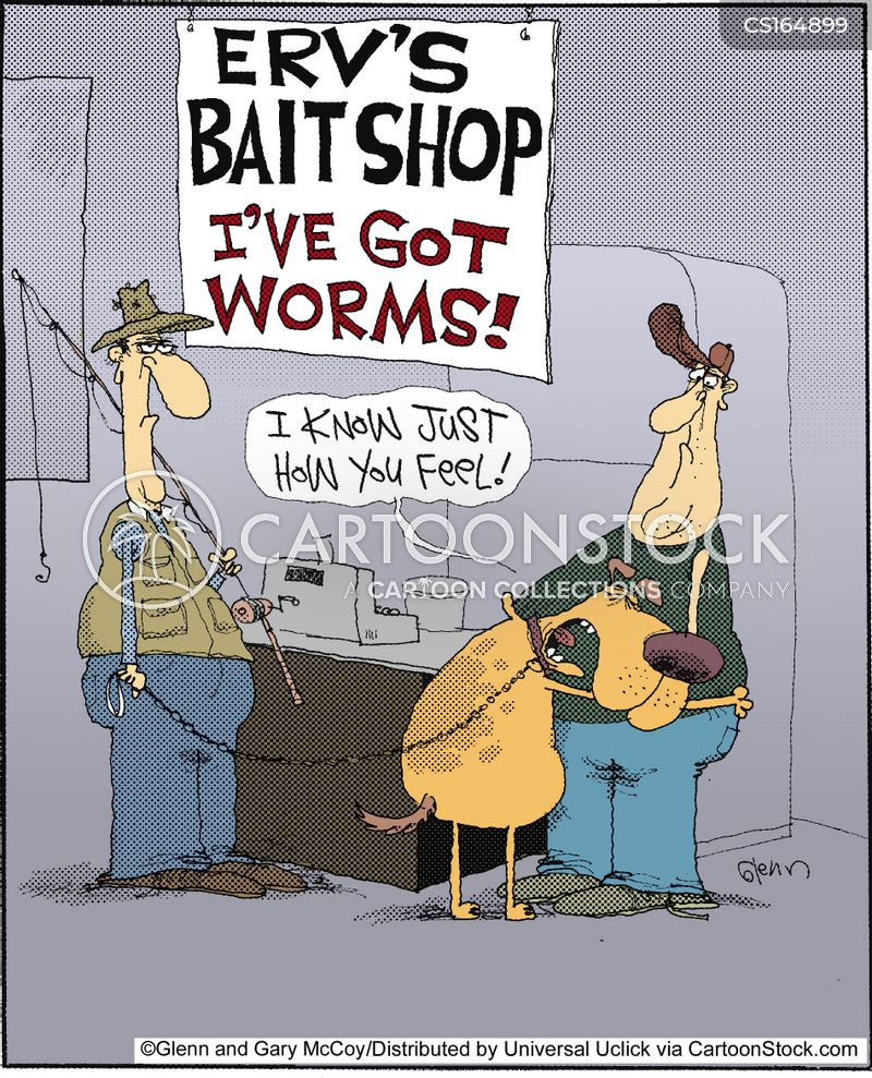 worm cartoon
