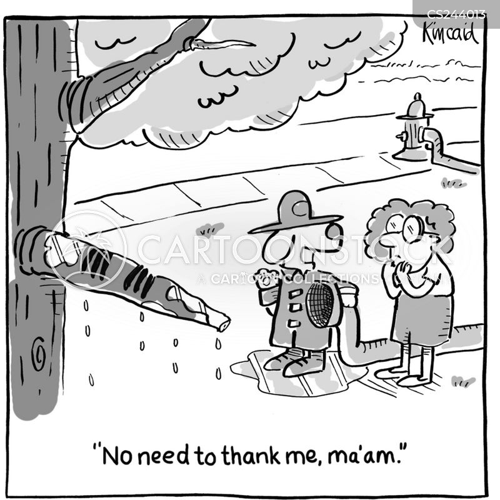 fire hoses cartoon