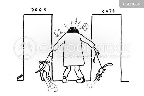 segregations cartoon