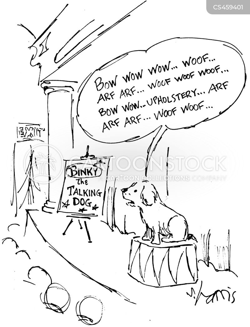 animal actors cartoon