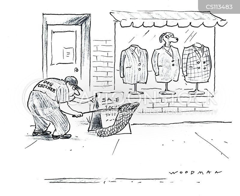 dog catchers cartoon