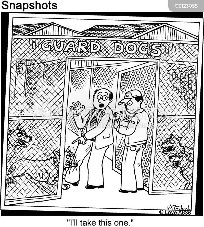 dog pound cartoon