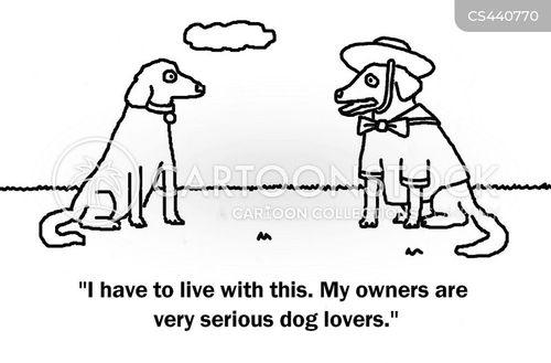 dog clothes cartoon