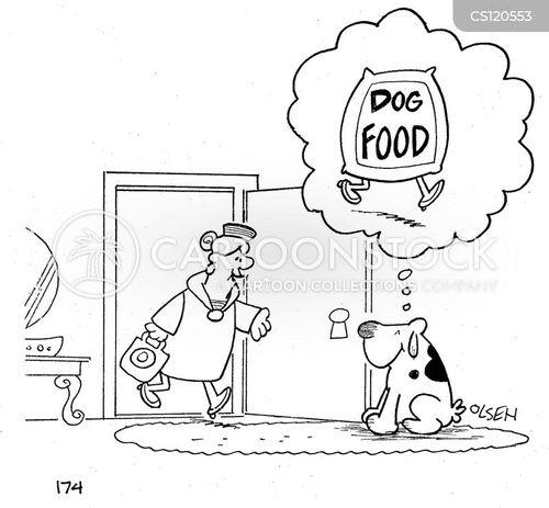 loyal dog cartoon