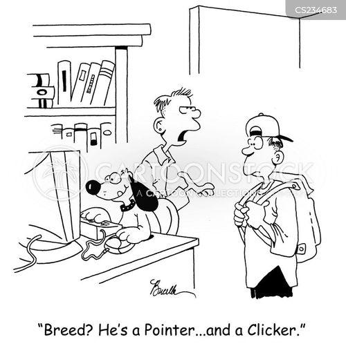 clicks cartoon