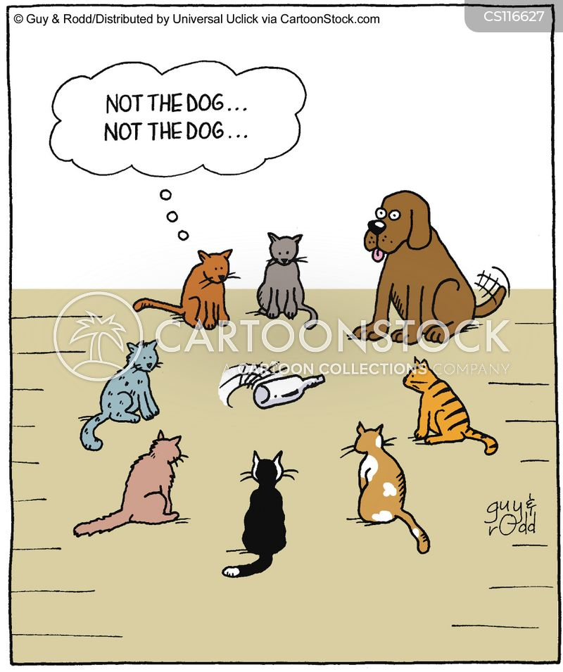 dog owners cartoon