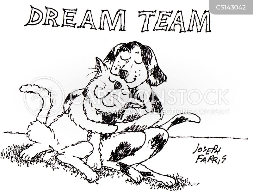 dream team cartoon
