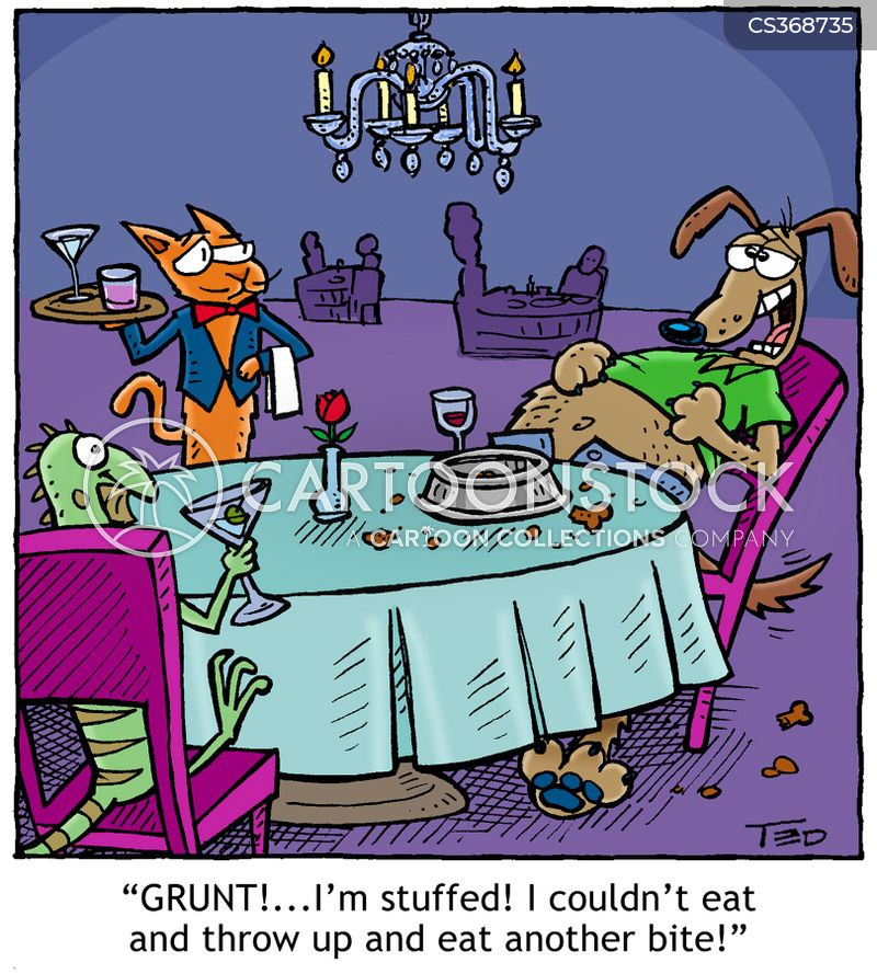 gluttany cartoon