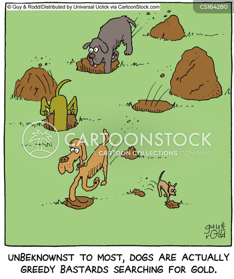 dirt cartoon