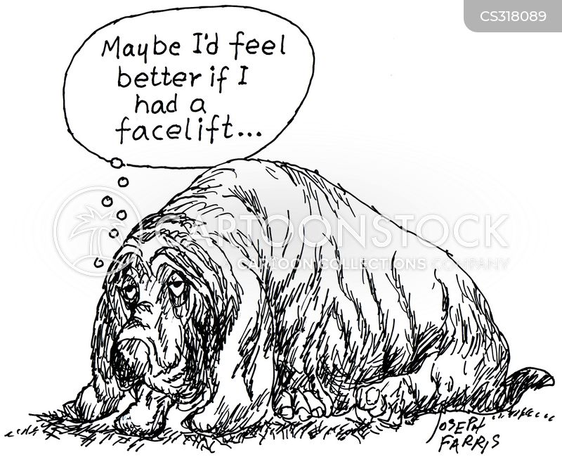 facelifts cartoon