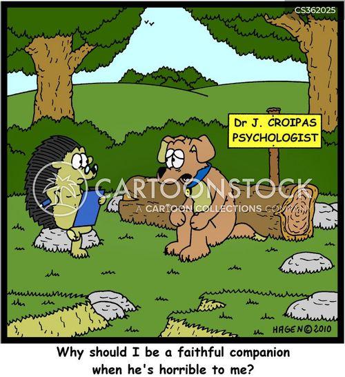faithful companion cartoon