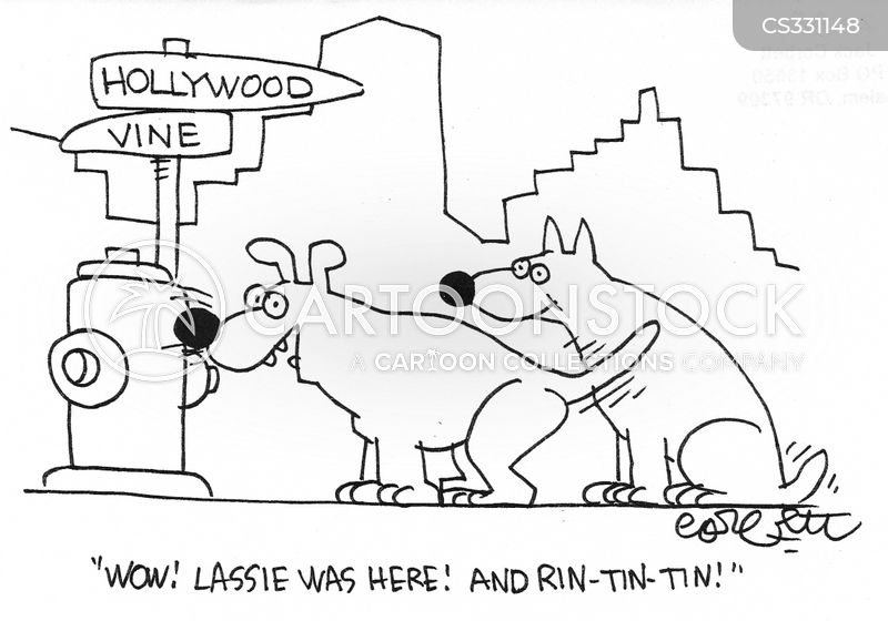 lassie cartoon