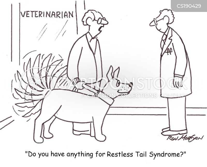 wagging tail cartoon