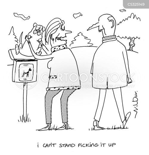 scoop the poop cartoon