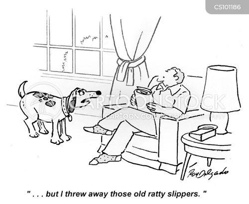 thrown away cartoon