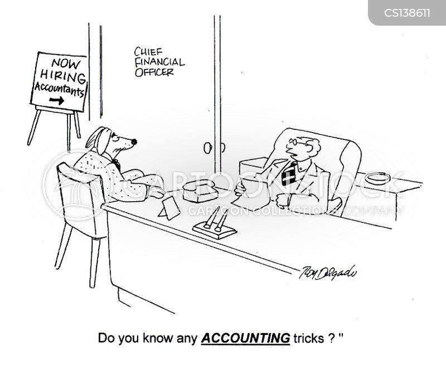 accounted cartoon