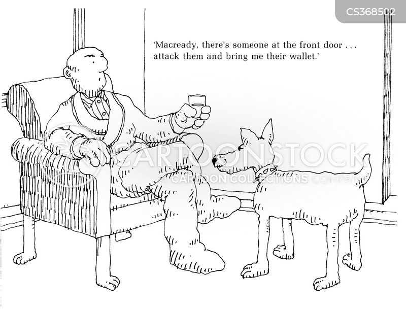 pit bulls cartoon