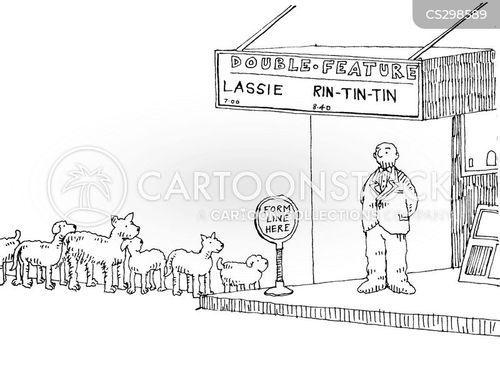 lassie cartoon