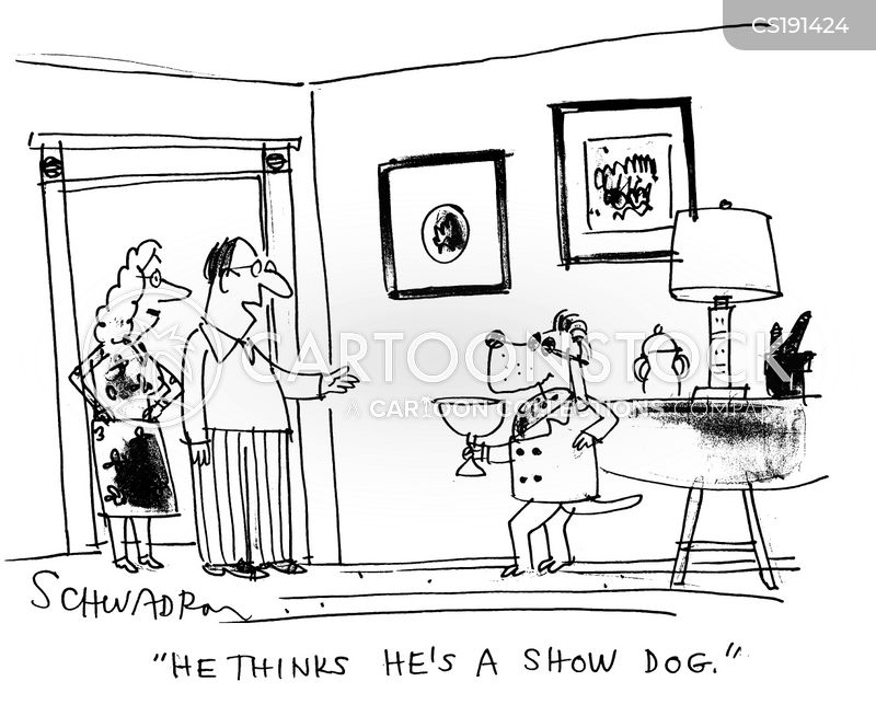 show dogs cartoon