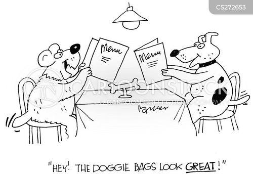 doggie bags cartoon