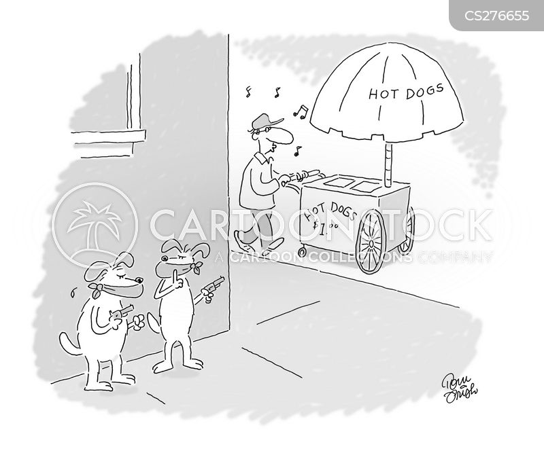 highwayman cartoon