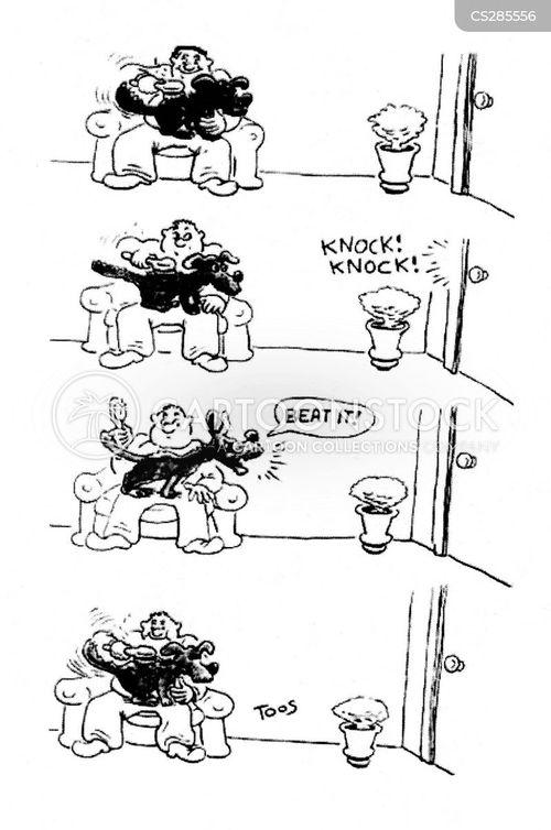 barking dog cartoon