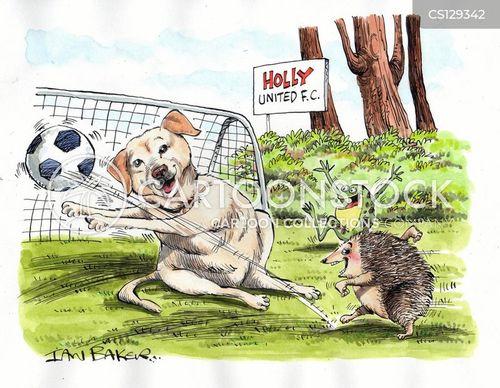 yellow labradors cartoon