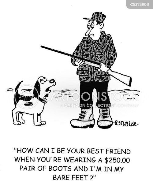 walking boot cartoon