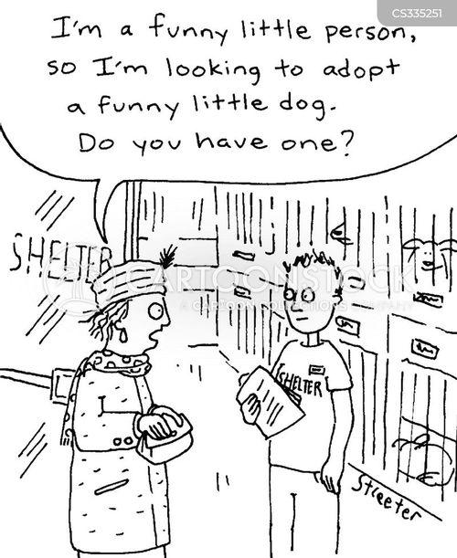 animal adoption cartoon