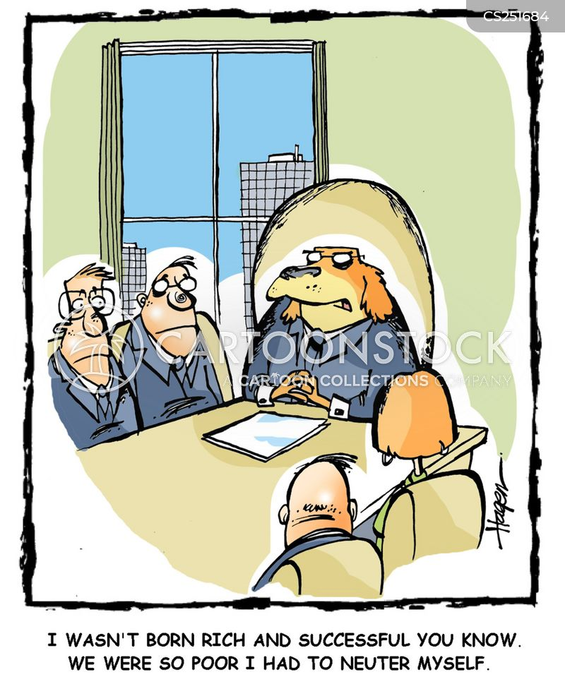 Castrated Cartoons and Comics - funny pictures from CartoonStock