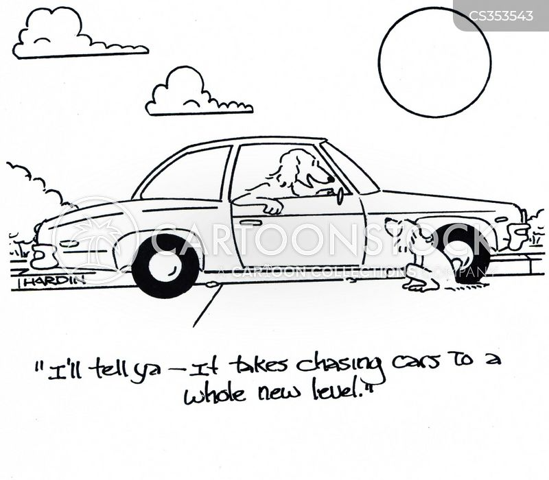 Chasing Cars cartoons, Chasing Cars cartoon, funny, Chasing Cars picture, Chasing Cars pictures, Chasing Cars image, Chasing Cars images, Chasing Cars illustration, Chasing Cars illustrations