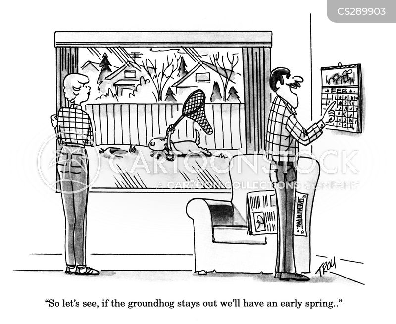 ground hogs cartoon