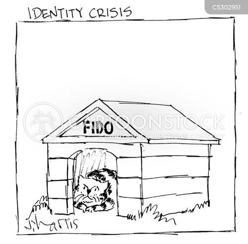 false identity cartoon