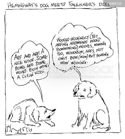 hemingway cartoon