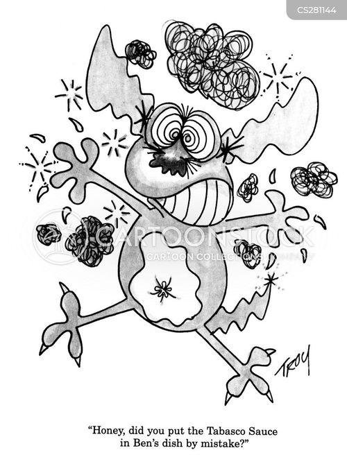 tabasco cartoon
