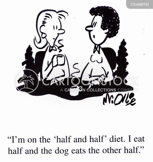 weight loss plans cartoon