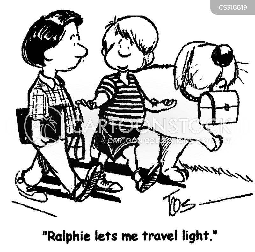 schoolbag cartoon
