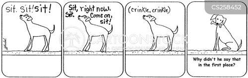 voice commands cartoon