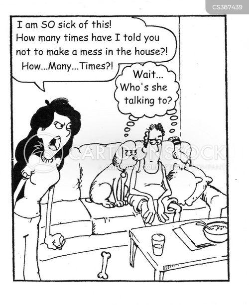 messed cartoon