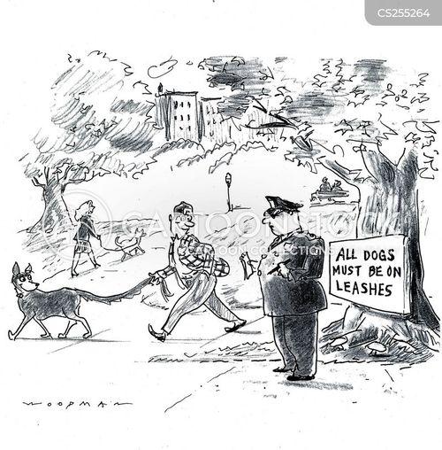dog warden cartoon