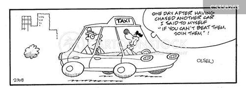 taxidriver cartoon