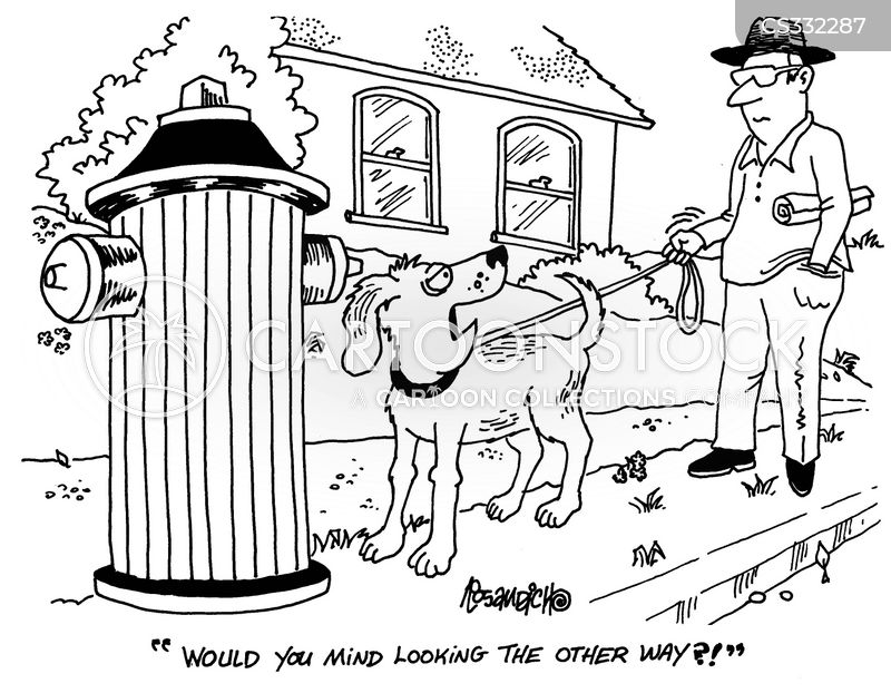 dog pee cartoons and comics   funny pictures from cartoonstock