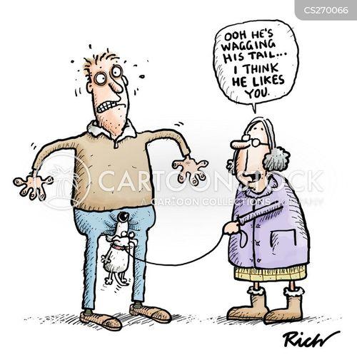 walkie cartoon