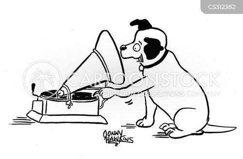 phonographs cartoon