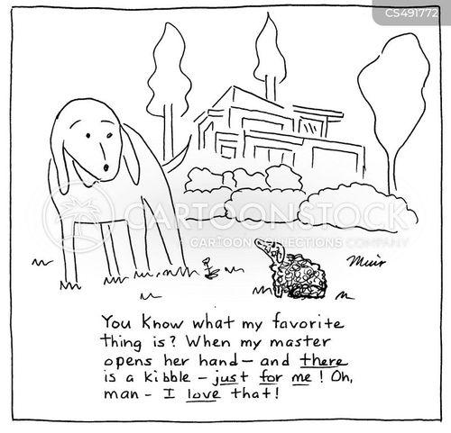 kibble cartoon