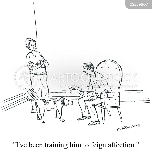 feigning cartoon