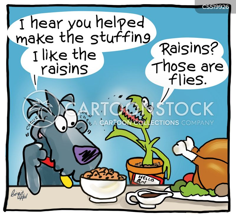 raisins cartoon